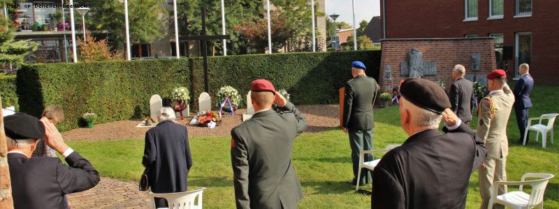 Afgeslankte herdenking Stoottroepers gedenkvol verlopen